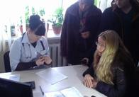 До Житомира приїхала головний медик країни разом із своїм заступником. Фото