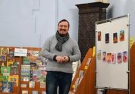 """Житомирський художник показав львів'янам Дарта Вейдера та """"Рожевий Житомир"""". Фото"""