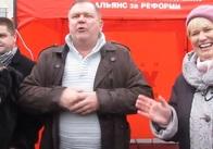 Як це було 13 лютого 2014 року в Житомирі на Майдані