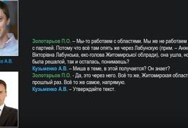 СБУ перехопила переговори щодо організації антиукраїнських акцій на Житомирщині