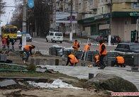 Сквер біля Шевченка зроблять до 9 березня. Потім знову візьмуться за Михайлівську