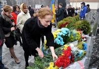 Шевченка у Житомирі вшанували покладанням квітів