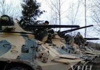 На Житомирському полігоні військові випробовують новий БТР. Фото