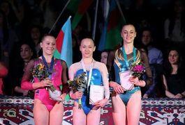 Українка Варинська завоювала «золото» на етапі Кубка світу зі спортивної гімнастики