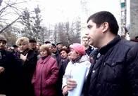 У Житомирі люди бастують проти будівництва 12-поверхівки