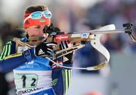 Біатлоністка Ірина Варвинець стала найкращою «снайперкою» сезону 2016/17