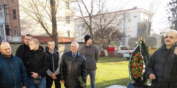 Житомиряни вшанували Миколу Сціборського. Фото