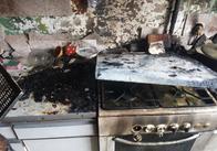 У Житомирі згоріла квартира