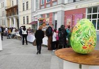У Житомирі на Михайлівській розпочались Великодні гуляння. ФОТО