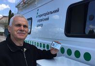 У Житомирській області громадяни вперше отримали послуги мобільного пересувного сервісного центру МВС