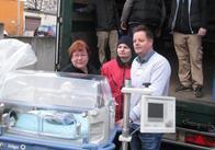 Благодійна організація німкені, що народилася в Житомирській області возить допомогу на окуповані території через Росію