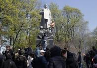 Нацкорпус у Києві виступив за український дух