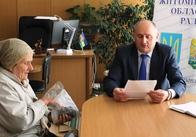 Володимир Ширма провів виїзний прийом громадян в Ємільчинському районі