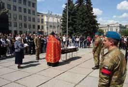 Напередодні 9 травня у Житомирі попрощалися з сучасним захисником України Валентином Ковальським