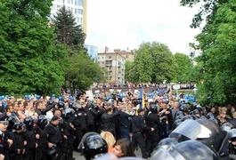 У Дніпрі частина поліції підтримала побиття бандитами учасників АТО