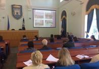 У Житомирі на Михайлівській та у міській раді роботодавці презентують свої підприємства. Фото