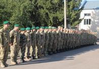 Житомирські прикордонники до професійного свята отримали перехідний вимпел і 5 тисяч