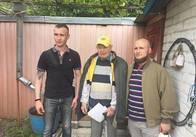 До Дня Героїв житомиряни привітали трьох ветеранів УПА. Фото