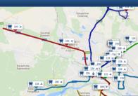 Рух житомирських приміських автобусів тепер видно на Дозорі