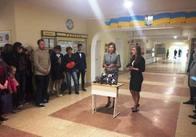 У 28 школу Житомира приїхала Порошенко. Фото