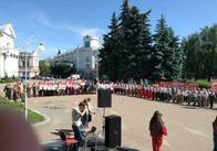 """Сотні дітей приїхали у Житомир, щоб пограти в """"Джуру"""""""