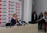 Ми проведемо всенародний референдум щодо продажу землі, - Юлія Тимошенко у Житомирі