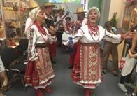 Житомиряни демонструють свою продукцію на всеукраїнській аграрній виставці у Києві. Фото
