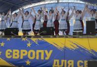 З наступаючим безвізом: У Житомирі відбувся концерт «Україна – це Європа»