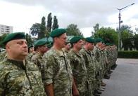 Житомирські прикордонники хвилиною мовчання пам'янули загиблих рівно три роки тому колег