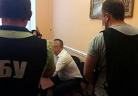 """На Житомирщині СБУ затримала депутата, який дав хабар поліцейському за """"кришування"""" видобутку бурштину. Фото"""