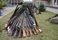 Добровольное «разоружение» завершилось показательной акцией милиции Житомирщины