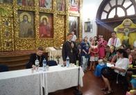 Отець Богдан написав заяву аби скласти повноваження голови громади Свято-Михайлівського собору. Оновлено