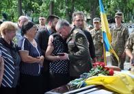 Сьогодні в Житомирі прощалися із загиблим полковником СБУ Юрієм Возним