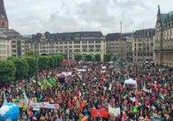 Саміт G20 в Гамбурзі пікетують незадоволені світовою політикою