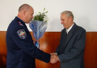 В Житомире поздравили ветеранов МВД Украины