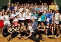 Юні житомиряни, що стали переможцями Міжнародного фестивалю «Балтійська хвиля»