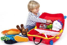 Критерии для выбора детского чемодана. Почему стоит выбрать поклажу от бренда Trunki?