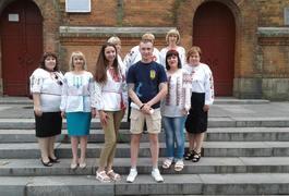 """У Житомирі продовжуються зйомки мистецько-патріотичного проекту """"Слово, що єднає Україну"""""""