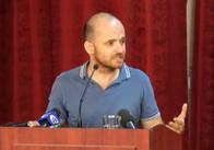Заступник міністра охорони здоров'я Олександр Лінчевський зустрівся з житомирськими лікарями