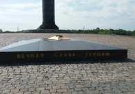 На монументі Слави у Житомирі тимчасово вимкнули Вічний вогонь