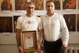 У Житомирі в православному храмі відкрили виставку вірменських ікон