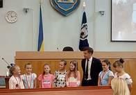 Діти учасників АТО відвідали Грузію і зустрілись з Сухомлиним