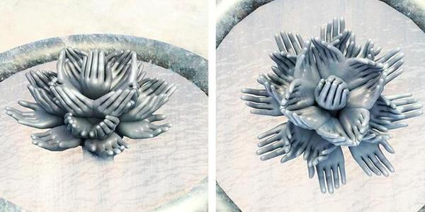 Житомирянка запропонувала попередній ескіз фонтану в сквер на Лятошинського