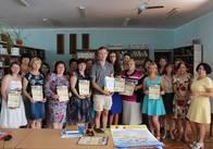 """У Житомирі вручили подяки учасникам проекту """"Слово, що єднає Україну"""""""