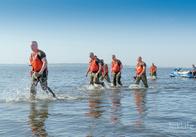 Керівництво ВДВ із Житомира навчало миколаївських десантників стрибків на воду. Фото