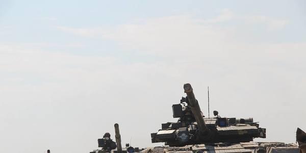 Під Житомиром десантники з усієї України змагались на кращий танковий взвод. Фото