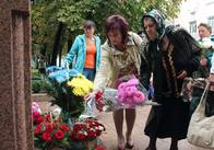 У Житомирі вшанували загиблих працівників органів внутрішніх справ. Фото