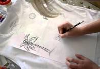 Малюнки на одязі своїми руками