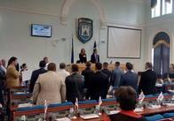 Міські депутати розпочали позачергову сесію