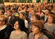 Володимир Ширма виступив перед освітянами Житомирщини напередодні нового навчального року